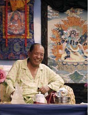 Tulku Sherdor on Kyabje Kusum Lingpa last visit toUS